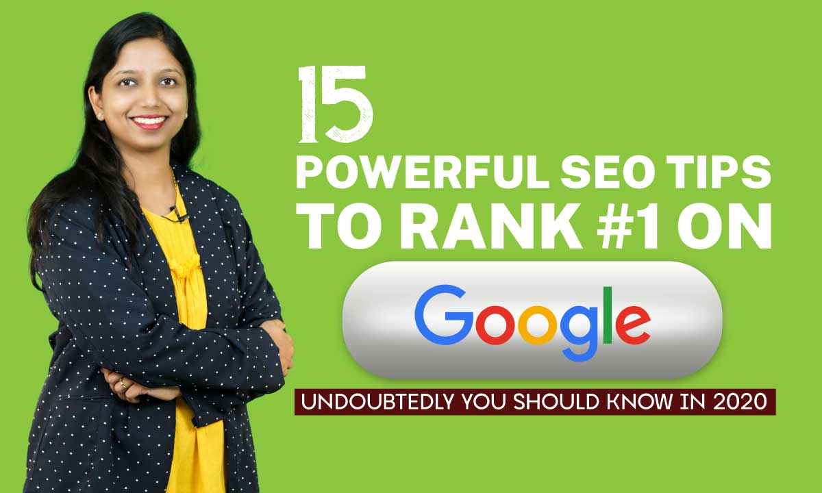 15 SEO-TIPS In 2020